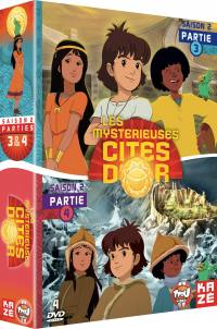 Mysterieuses cites d or (les) - saison 2 - partie 3 et 4 - 4 dvd - exclu sites m