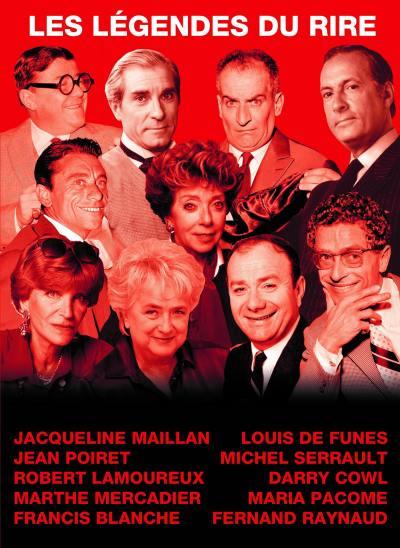 Legendes du rire (les) - 10 dvd
