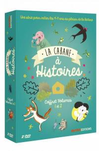 Cabane a histoires v1 + v2 - 2 dvd