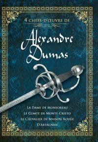 4 chefs-d'Œuvre d'alexandre dumas (b) - 9 dvd