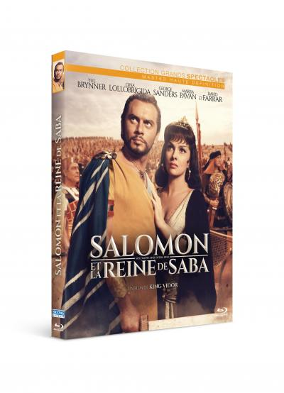 Salomon et la reine de saba - blu-ray