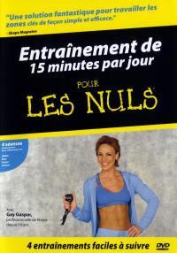 Pour les nuls - entrainement 15 min/ jour-dvd