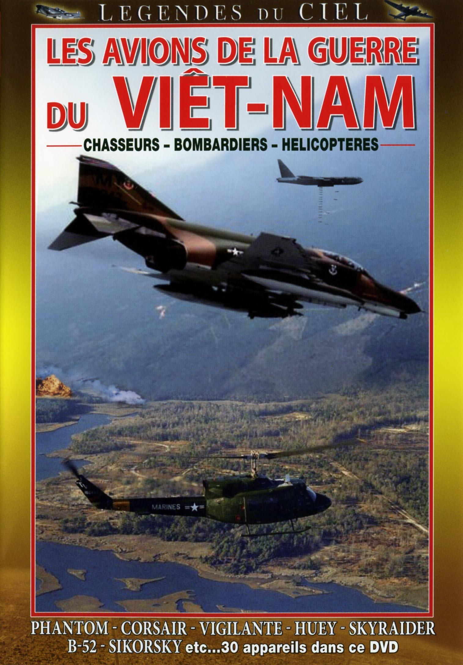 Avions guerre vietnam - dvd