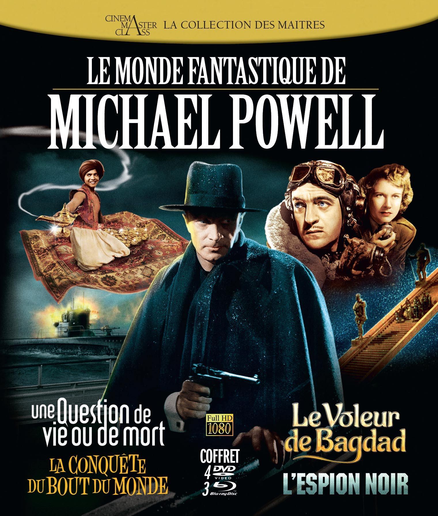 Michael powell - 4dvd+3brd