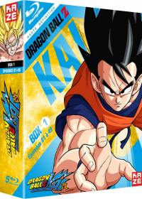 Dragon ball z kai - partie 1 sur 4 - edition collector 5 blu-ray