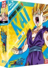Dragon ball z kai - partie 2 sur 4 - edition collector 5 blu-ray