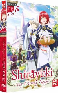 Shirayuki aux cheveux rouges - saison 1 - 3 dvd