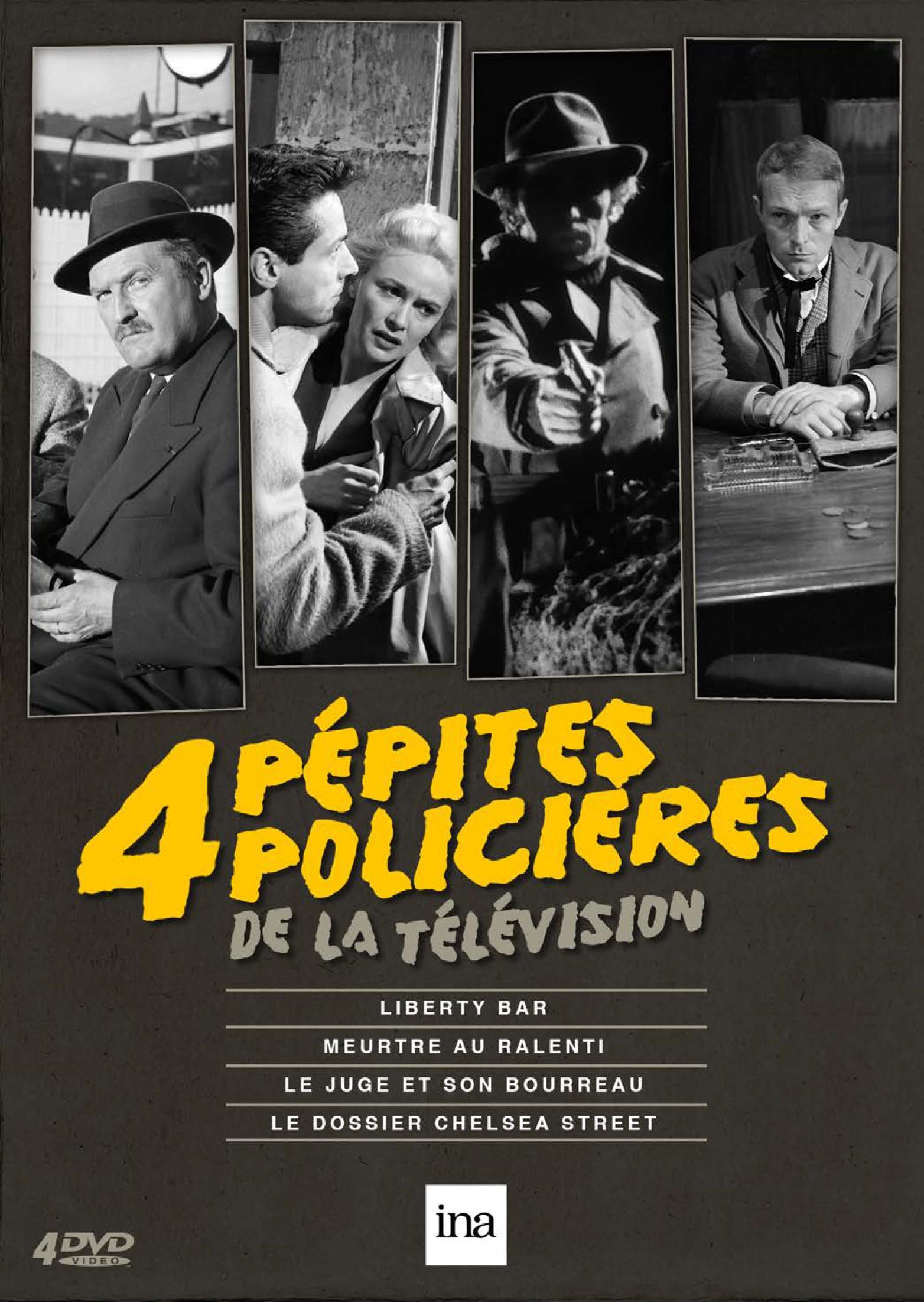 4 pepites policieres de la television - 4 dvd