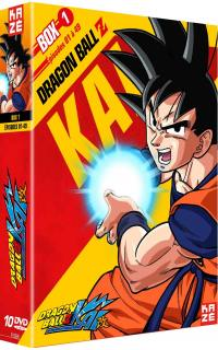 Dragon ball z kai - partie 1 sur 4 - 10 dvd