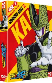 Dragon ball z kai - partie 2 sur 4 - 10 dvd
