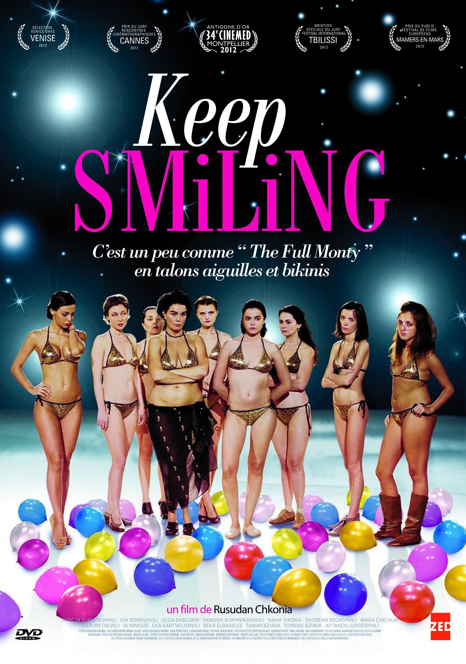 Keep smiling - dvd