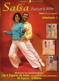 Salsa porto ricaine niv 1 - dvd