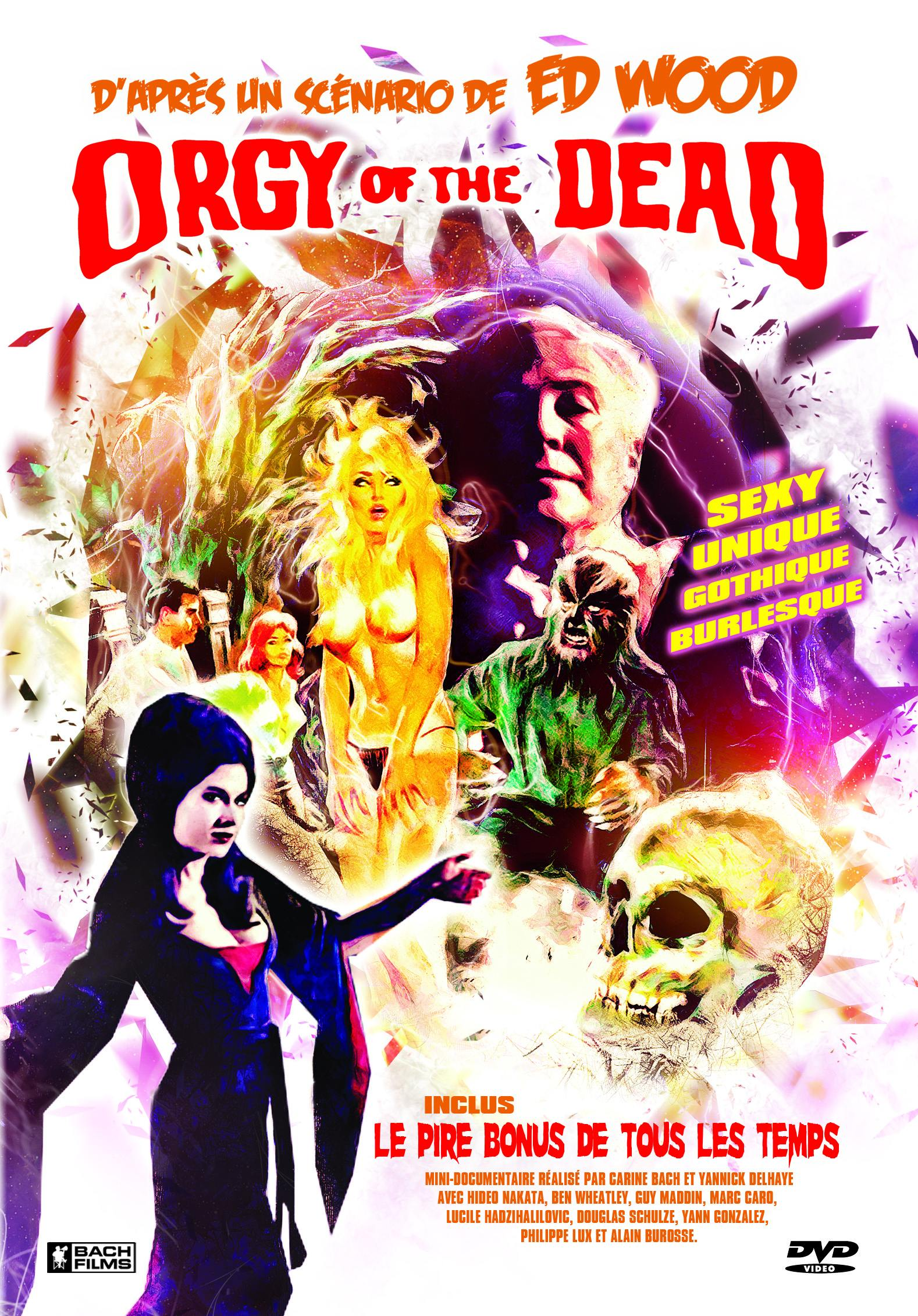 Orgy of the dead - dvd