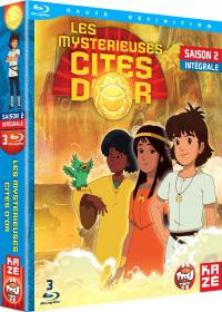 Mysterieuses cites d or (les) - saison 2 - 3 blu-ray - exclu sites manga