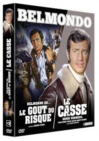 Casse (le) + belmondo ou le gout du risque - 2 dvd