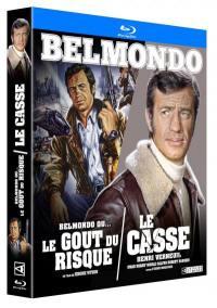 Casse (le) + belmondo ou le gout du risque - 2 blu-ray