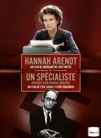 Coffret hannah arendt/un specialiste/eichmann a jerusalem - 2dvd+liv