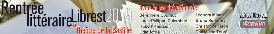 Rentrée littéraire 2019 Librest