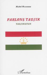 Parlons tadjik