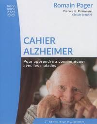 Cahier Alzheimer