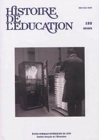 Histoire de l'éducation. n° 152,