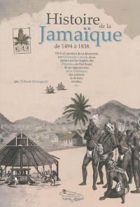 Histoire de la Jamaïque, de 1494 à 1838
