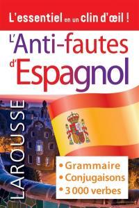 L'anti-fautes d'espagnol