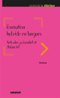 Formation hybride en langues