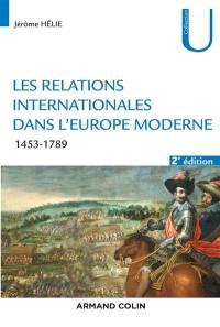Les relations internationales dans l'Europe moderne