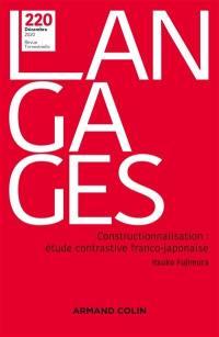 Langages. n° 220, Constructionnalisation