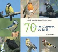 70 chants d'oiseaux du jardin