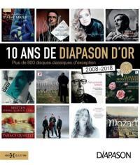 10 ans de Diapason d'or