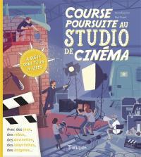 Course poursuite au studio de cinéma