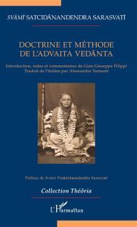 Doctrine et méthode de l'advaita vedânta
