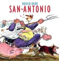 Artbook Boucq. Volume 1, San-Antonio
