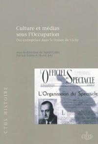 Culture et médias sous l'Occupation