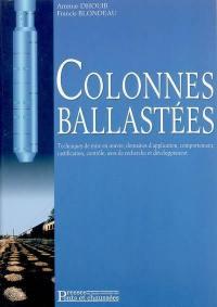 Colonnes ballastées