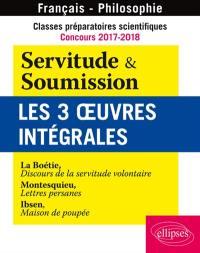 Classes préparatoires scientifiques, concours 2017-2018, français-philosophie