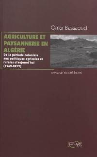 Agriculture et paysannerie en Algérie