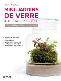 Mini-jardins de verre & terrariums déco