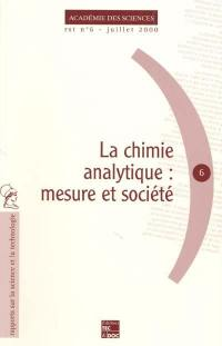 La chimie analytique
