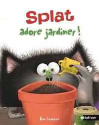 Splat le chat. Volume 14, Splat adore jardiner !
