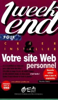 Créer et installer son site Web personnel