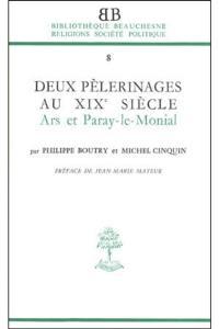 Deux pèlerinages au XIXe siècle