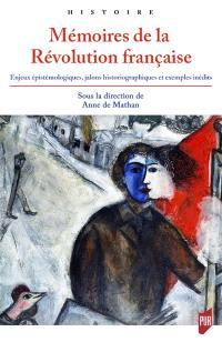 Mémoires de la Révolution française