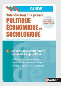 Introduction à la pensée politique, économique et sociologique