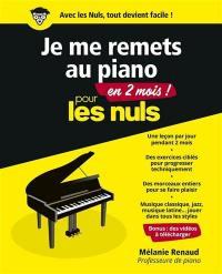 Je me remets au piano en 2 mois pour les nuls