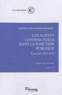 Les agents contractuels dans la fonction publique