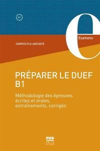 Préparer le DUEF B1