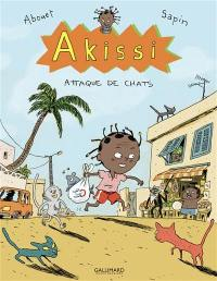 Akissi. Volume 1, Attaque de chats